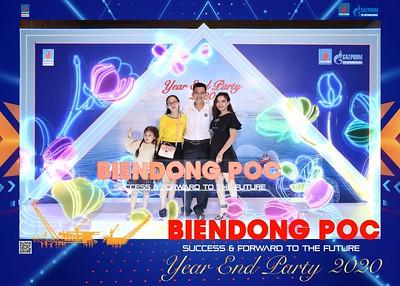 BIEN DONG POC   Year End Party 2020 instant print photo booth @ GEM Center   Chụp hình in ảnh lấy liền Tất niên 2020 tại TP Hồ Chí Minh   WefieBox Photobooth Vietnam
