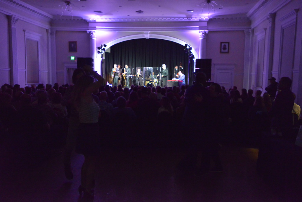 . Night one dancers. Big Bad Voodoo Daddy played at the Stanley Hotel in Estes Park on Friday, March 1 and Saturday, March 2, 2019.