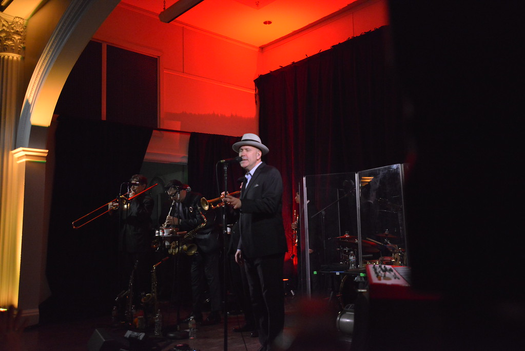 . Stage right on night two. Big Bad Voodoo Daddy played at the Stanley Hotel in Estes Park on Friday, March 1 and Saturday, March 2, 2019.