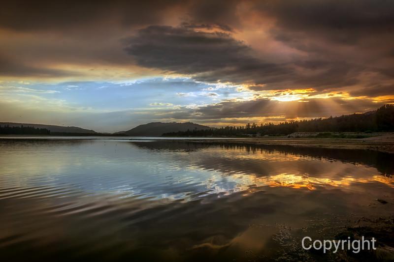 Big Bear Lake, Fire in the Sky