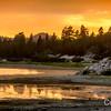 Big Bear Lake Sunset