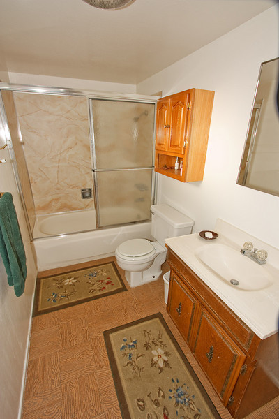 The main bathroom