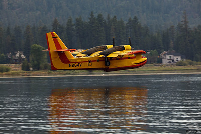 Super Scoopers at Big Bear Lake