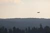 Flying downwind leg along south shore of Big Bear Lake