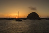 Sunset of Morro Rock