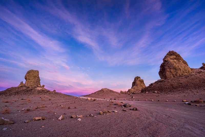 Sunset Glow Over Pinnacles