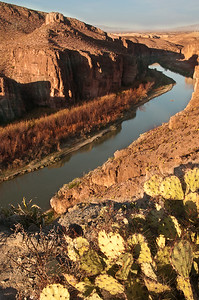 Rio Grande Village Overlook sunrise