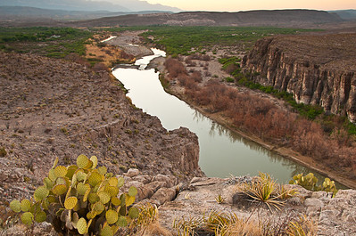 Rio Grande Village Overlook East Sunrise