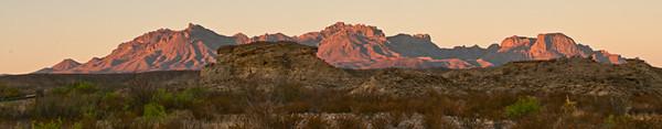 Tornillo Flat Hoodoos Sunrise