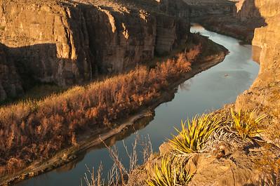 Rio GrandeVillage Overlook sunrise