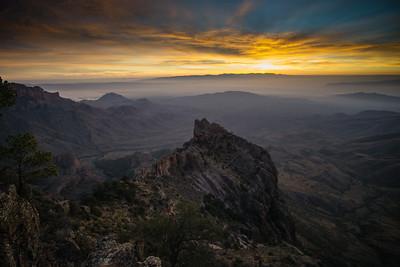 Dramatic sunrises