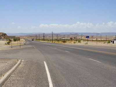 Study Butte/Terlingua. Not much out here.