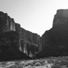 Big Bend in Black and White :