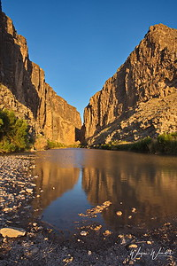 Santa Elena Canyon Reflection