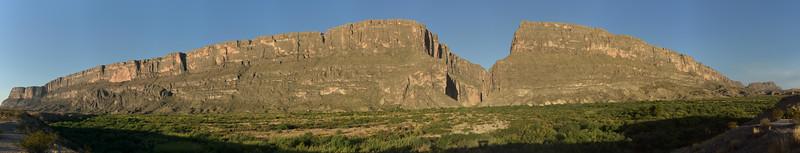 Santa Elena Canyon Panorama