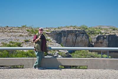 David Billingsley at the Pecos River