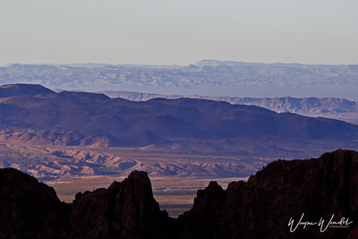 Big Bend from the Chisos Mountains