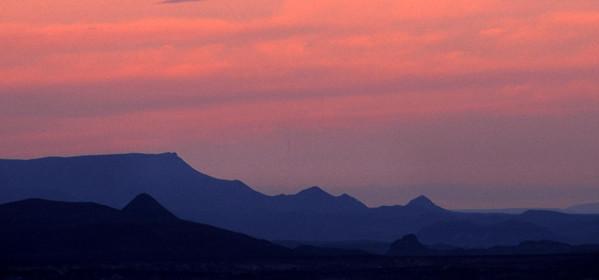 West Texas sunset