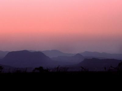 West Texas twilight