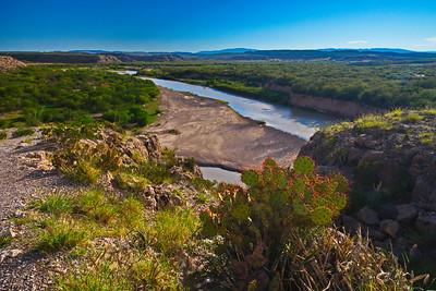 Rio Grande River at Boquillas Crossing