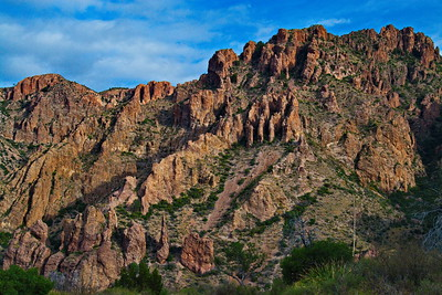 Chisos Basin Rock Face