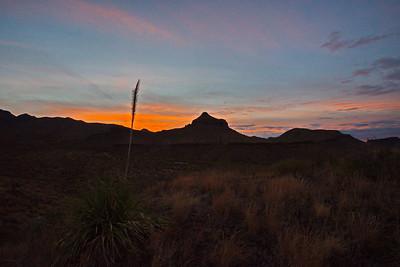 Sunrise at the Homer Wilson Ranch
