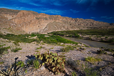 Boquillas Canyon overlook