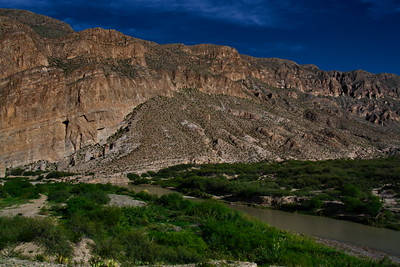 Boquillas Canyon and the Rio Grande River