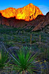 Chisos Basin Sunrise