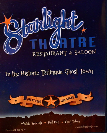 Starlight Theater in Terlingua, TX