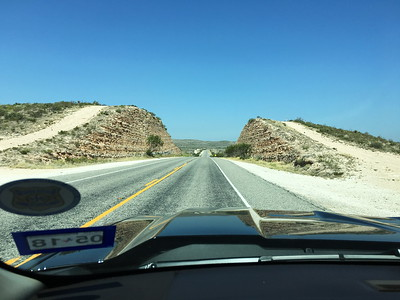 Headed West on US90 from Del Rio to Marathon
