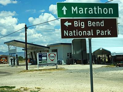 Fina Station in Marathon