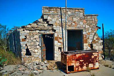 Purple Sage Saloon, Dryden, TX