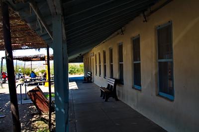 Castolon store and patio
