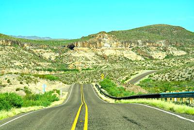 Texas' Most Scenic Drive:  FM170 Lajitas to Presidio