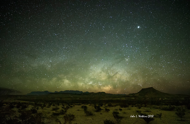 Milky Way Rising at Big Bend