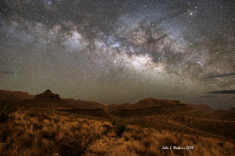 Milky Way over Sonal Vista