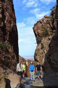 Wilderness Volunteers: 2016 Big Bend NP Service Trip
