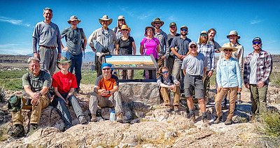 Wilderness Volunteers: 2016 Big Bend NP Service Trip