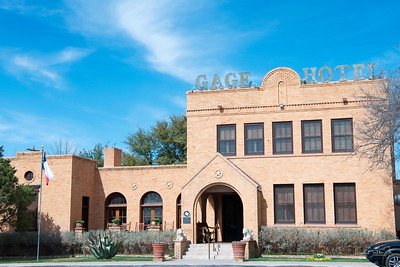 The Gage Hotel,  Marathon, Texas