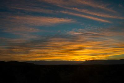 Sierra del Carmen Sunrise