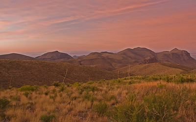 Sotol Vista at civil twilight
