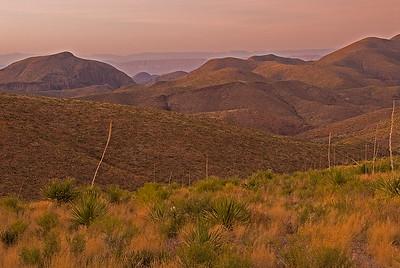 Sotol Vista at sunrise