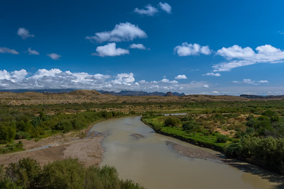 Rio Grande from Santa Elena Canyon.