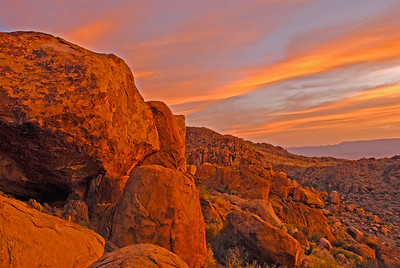 Grapevine Hills Trail at sunrise