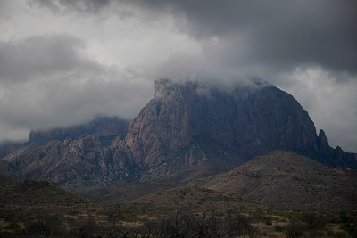 Storm Clearing in the Chisos