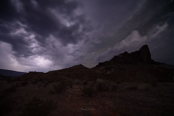 Tuff Canyon Lightning Storm