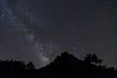 Milky Way from Lost Mine Trailhead