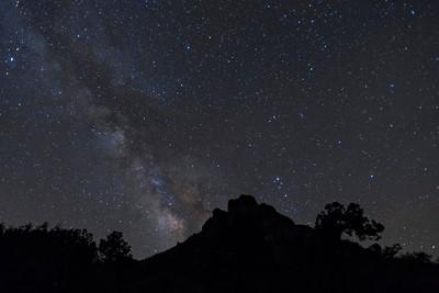 Milky Way from Lost Mine Trailhead