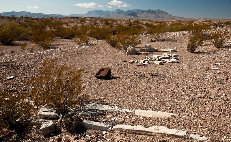 Graveyard of a Town - La Noria